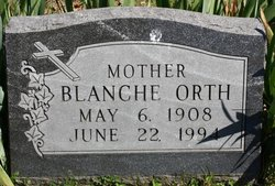 Blanche Orth