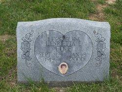 Henrietta E. Cole
