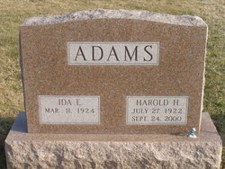 Harold Heister Adams