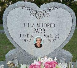 Lula Mildred <i>Cone</i> Parr