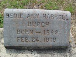 Bedie(Bedian) Ann <i>Harrell</i> Burch