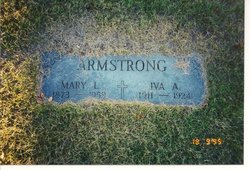 Mary L <i>Faucher</i> Armstrong