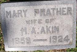 Mary Catherine <i>Prather</i> Akin