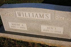 Maude Irma <i>Atkins</i> Williams