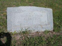 Clarence Byron Buck Albritton