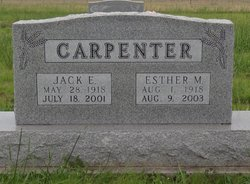 Esther Marie <i>Seibel</i> Carpenter