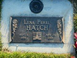 Lena Pearl <i>Morley Wagstaff</i> Hatch