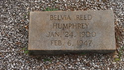 Belvia <i>Reed</i> Humphrey