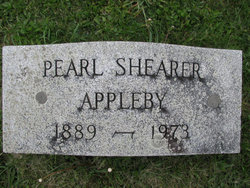 Pearl Virginia <i>Shearer</i> Appleby