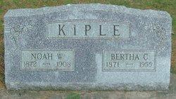 Bertha C <i>Kohler</i> Kiple