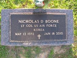 Nicholas D Boone, IV