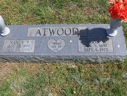 Nancy Ann Rhoda <i>Pennington</i> Atwood