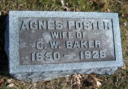 Agnes Adelaide <i>Foster</i> Baker