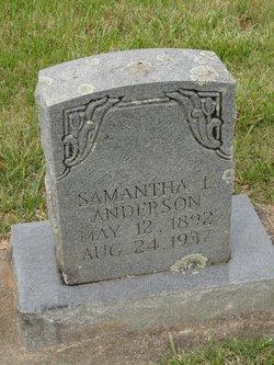 Samantha <i>Love</i> Anderson