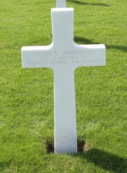PFC Lester R Anderson