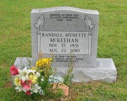 Randall Mynette Randy McKeehan