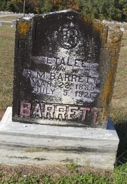 Etta Lee <i>Stubblefield</i> Barrett