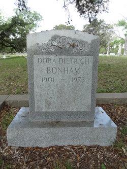 Dora <i>Dieterich</i> Bonham