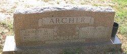 Etta Mary <i>Brooks</i> Archer