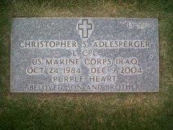 LCpl Christopher Scott Adlesperger