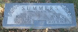 Jennie Griffin <i>Moore</i> Summers