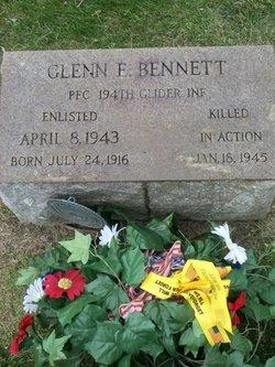 PFC Glenn E Bennett, II