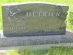 Pauline <i>Hieb</i> Hetrick