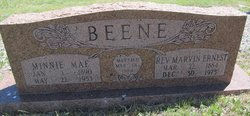 Minnie Mae <i>Beebe</i> Beene