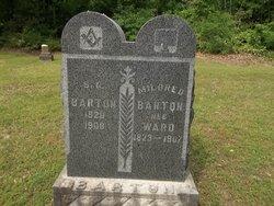 Mildred Johnson <i>Ward</i> Barton