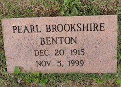 Pearl Rebecca <i>Brookshire</i> Benton