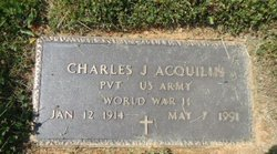 Charles J Acquilin