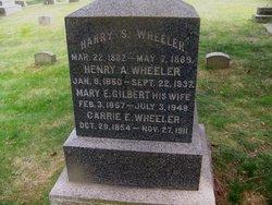 Mary E. <i>Gilbert</i> Wheeler