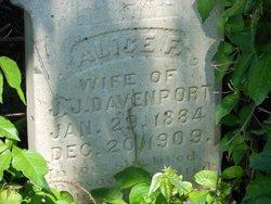 Alice F <i>Craft</i> Davenport