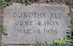 Dorothy Maude Ely
