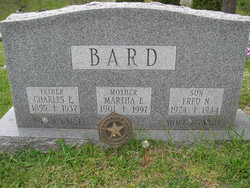 Martha E <i>Norris</i> Bard