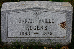 Sarah E <i>Vaille</i> Rogers