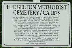 Belton Methodist Church Cemetery