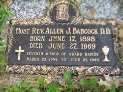 Rev Allen James Babcock