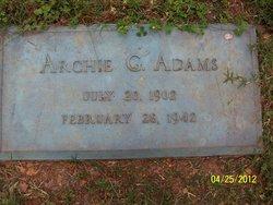 Archie G. Adams
