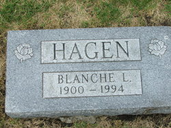Blanche Loiuise <i>Coons</i> Hagen