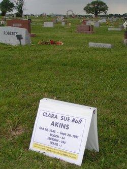 Clara Sue Suzy <i>Ball</i> Akins