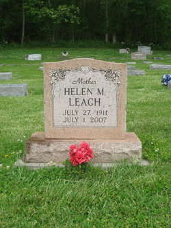 Helen M. <i>Manville</i> Leach