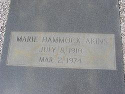 Marie <i>Hammock</i> Akins