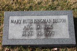 Mary Ruth <i>Bingman</i> Belton