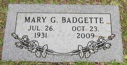 Mary G <i>Perry</i> Badgette