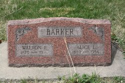 Alice L Barker