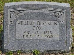 William Franklin Frank Cox