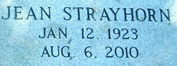 Jean <i>Strayhorn</i> Baynham