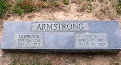Lawrence E. Armstrong