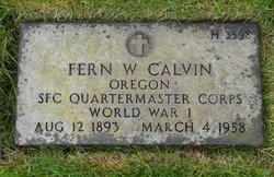 Fern W. Calvin